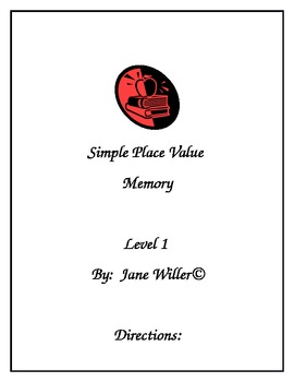 Simple Place Value Memory