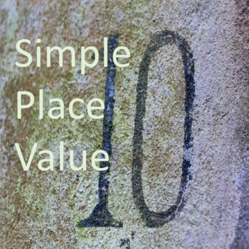 Simple Place Value: Visual, Data Collection K-1st Grade Common Core