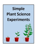 Simple Plant Science Experiments