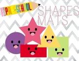 Simple Play-Dough Dry Erase Shape Mats