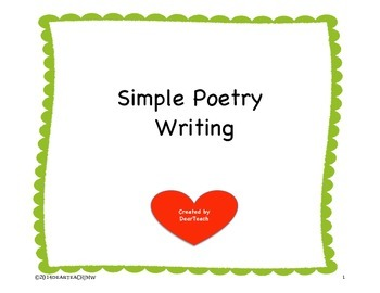Simple Poetry Writing