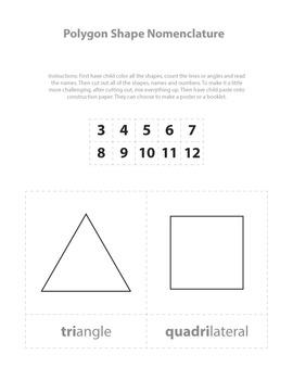 Simple Polygon Nomenclature