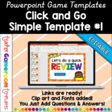 Simple Powerpoint Game Template #1