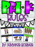 Simple Pre-K Rules Mini-Booklet