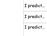 Simple Prediction Foldable