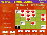 Battle Game for Simple Present Tense