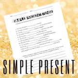 Simple Present Tense Worksheet 1