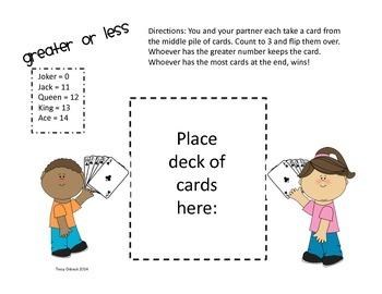 Simple Primary Math Games NO PREP