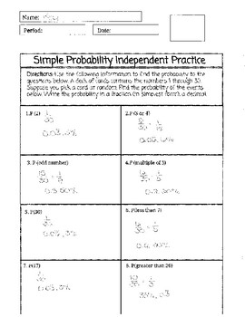 Simple Probability Bundle