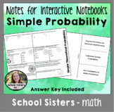 Simple Probability Notes for Interactive Notebooks