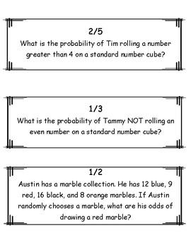 Simple Probability Scavenger Hunt