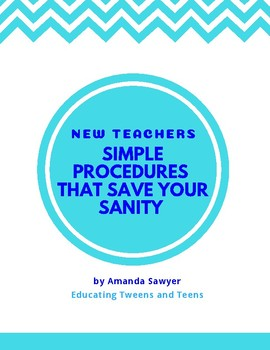 Simple Procedures That Save Your Sanity
