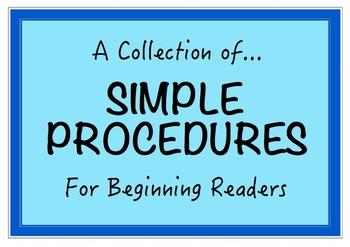 Simple Procedures for Beginning Readers