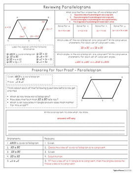 Simple Proofs Bundle - Interactive Note-Taking Materials