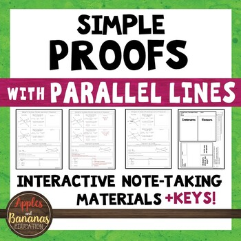 Simple Proofs with Parallel Lines - Interactive Note-Takin