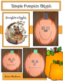 Pumpkin Activities: Simple Pumpkin Glyph: Great for Halloween Party Day!