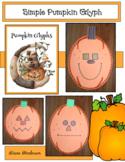Pumpkin Activities: Simple Pumpkin Glyph: Great for Hallow