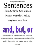 Simple Punctuation and Common Spelling Errors (Posters)