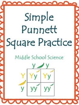Simple Punnett Square Practice