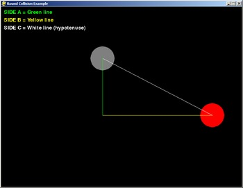 Simple Python/PyGame Collision Detection