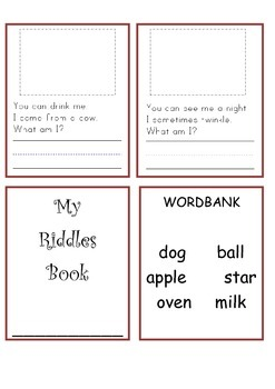Simple RIddle Minibook