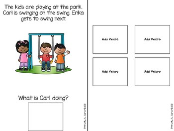 Simple Reading Comprehension {Adapted Book}