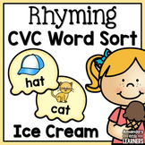 Rhyming Sort - CVC Words