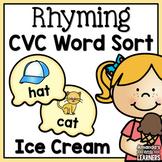 Rhyming Sort - CVC Words