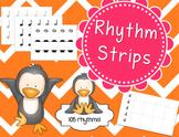 Rhythm Strips & Cards - Set of 105!
