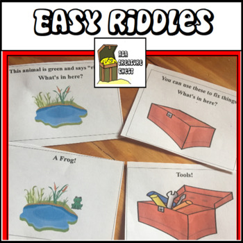 Easy Riddles, Inferences: What's in Here? Simple Picture Inferences
