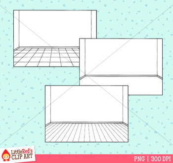 Simple Room Backgrounds Clip Art