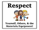 Simple Rules for ANY Special's/Enrichment Classroom