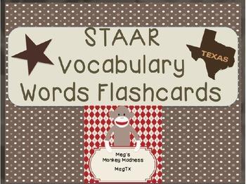 Simple STAAR Vocabulary Bundle