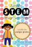 Simple STEM Design Worksheet