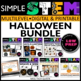 Halloween STEM Challenges 6 October Activities Digital