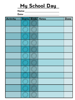 Simple Schedules for Children With Autism