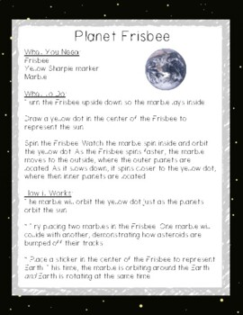 Simple Science: 12 Outer Space Themed Experiments for Elementary Students