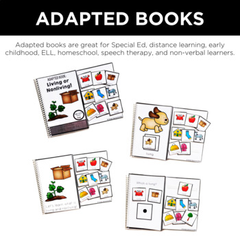 Simple Science: Adapted Comprehension Book Bundle