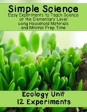 Simple Science - Ecology Experiments