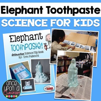 Simple Science Experiments - Elephant Toothpaste! Interactive Flip Book