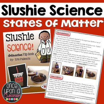 Simple Science Experiments - Slushie Science! Interactive Flip Book