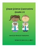 Simple Science Explorations Grades 3-5