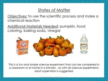 Science Experiment: Oozing Pumpkins