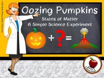 Science Experiment: Oozing Pumpkins