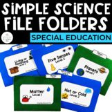 Simple Science File Folders