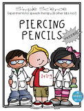 Simple Science Flip book: Piercing Pencils Experiment FREEBIE
