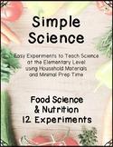 Simple Science - Food Science