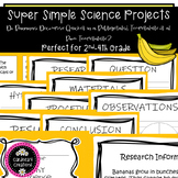Simple Science Project for grades 2nd-4th