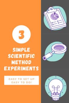 Simple Scientific Method Experiments!