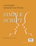 Short Drama Script for 2 characters, Grades 4-9, great for drama festivals